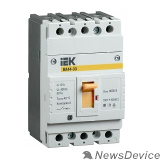 Модульное оборудование Iek SVA4410-3-0050 Авт. выкл. ВА44 33 3Р 50А 15кА