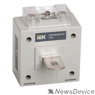 IEK Трансформаторы тока Iek ITP10-2-05-0010 Трансформатор тока ТОП-0,66  10/5А  5ВА  класс 0,5  ИЭК