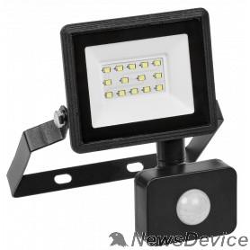 Прожекторы Iek LPDO602-20-65-K02 Прожектор СДО 06-20Д светодиодный черный с датчиком движения IP54 6500K