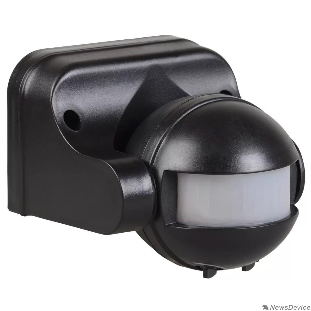датчик движения Iek LDD10-009-1100-002 Датчик движения ДД 009 черный, макс. нагрузка 1100Вт, угол обзора 180град., дальность 12м, IP44, ИЭК