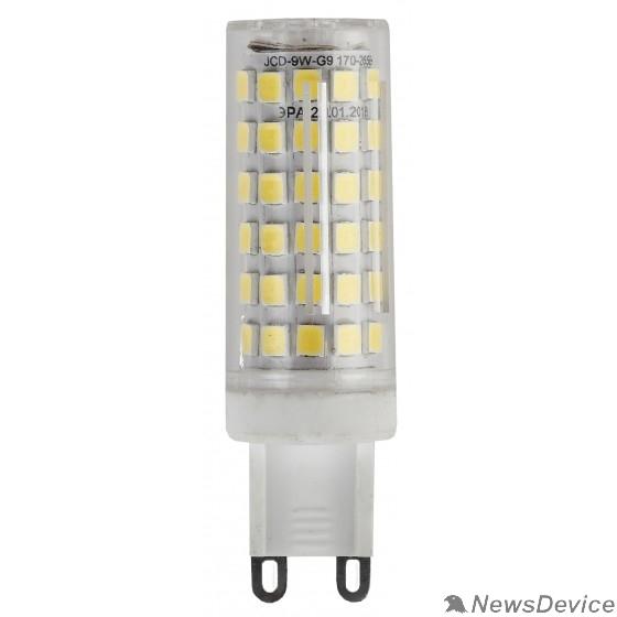 ЭРА Светодиодные лампы ЭРА Б0033186 Светодиодная лампа LED smd JCD-9w-cer-840-G9