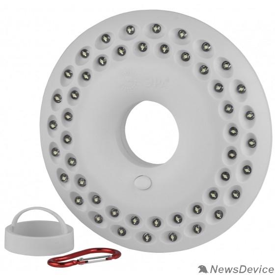 Фонари ЭРА Б0029178 Кемпинговый фонарь КВ-601 48 светодиодов, карабин, ударопрочный пластик, 3xAA в комплект не входят