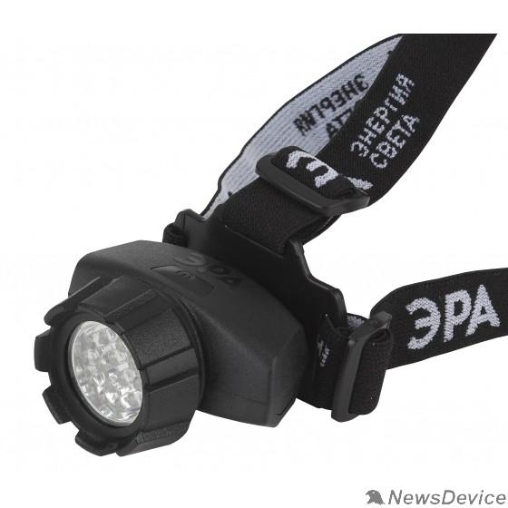 Фонари ЭРА Б0031383 Налобный фонарь GB-603 14 светодиодов, 3хААА в комплект не входит, 4 режима