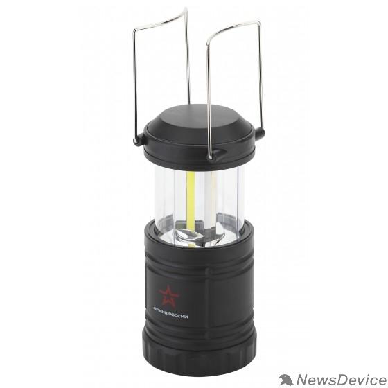 Фонари ЭРА Б0030188 Кемпинговый фонарь KB-502 Заря 3х1,5Вт СОВ светодиода, алюминий, магнит, ушко для подвешивания, складной механизм, 3хАА в комплекте