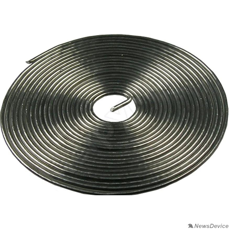 Припои REXANT (09-3108) Припой с канифолью  ПОС-61  O0.8мм  спираль 1 метр