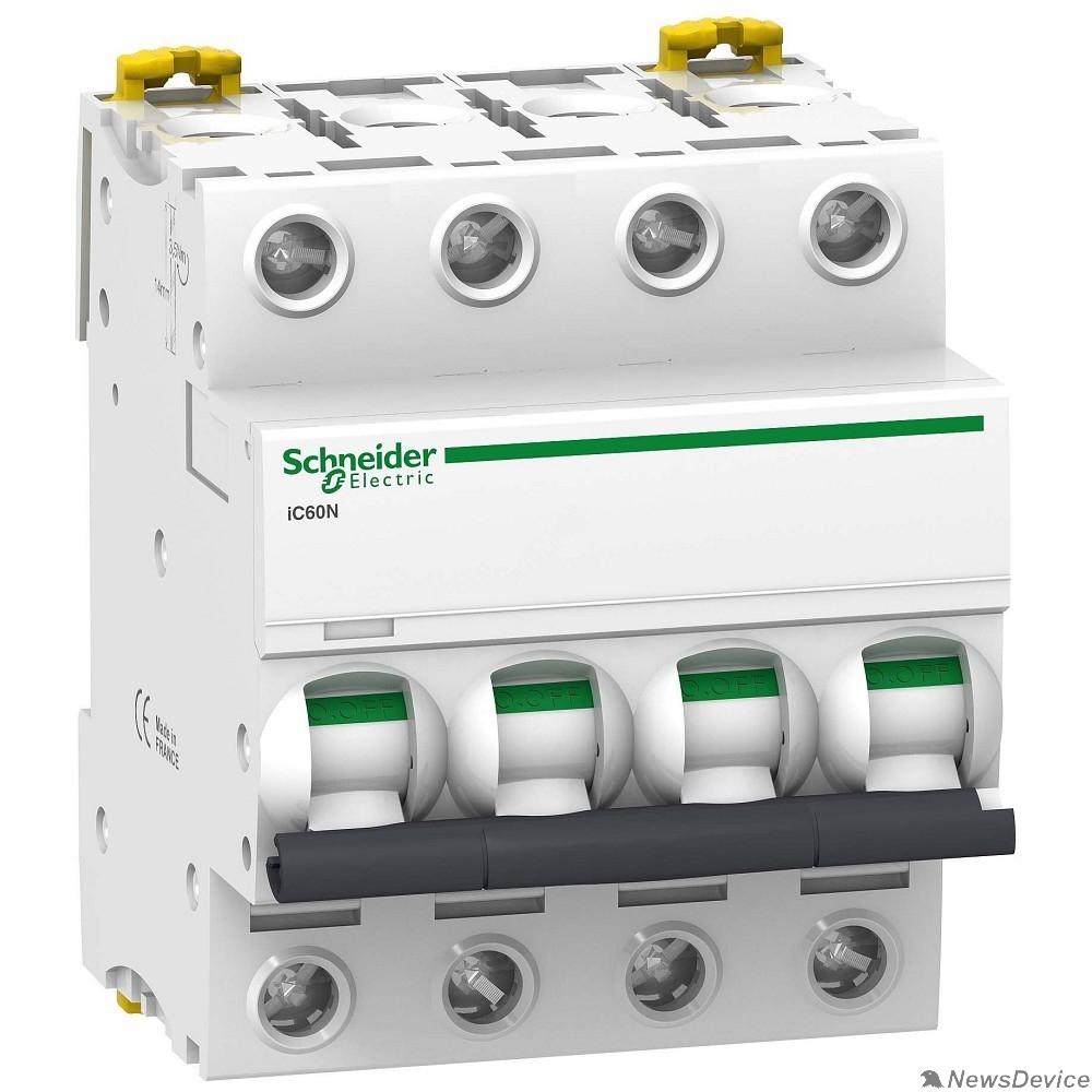 Автоматы Acti9 Schneider-electric A9F75404 АВТ. ВЫКЛ.iC60N 4П 4A D