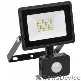 Прожекторы Iek LPDO602-30-65-K02 Прожектор СДО 06-30Д светодиодный черный с датчиком движения IP54 6500K