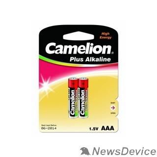 Батарейка Camelion  LR03  Plus Alkaline BL-2 (LR03-BP2, батарейка,1.5В)  (2 шт. в уп-ке)