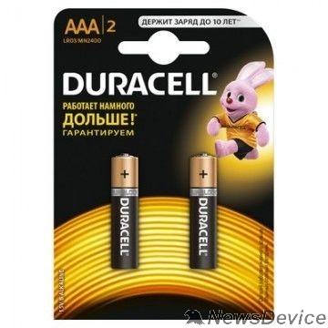 Батарейка Duracell LR03-2BL BASIC CN (24/96/14592)  (2 шт. в уп-ке)