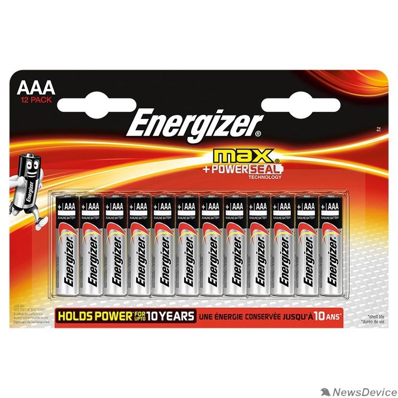 Батарейка Energizer MAX AAA/LR03 FSB12 (12 шт. в уп-ке)(ALKALINE POWER)