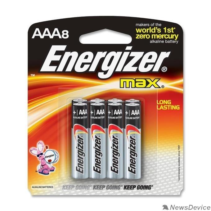Батарейка Energizer MAX AAA/LR03 FSB8 (8 шт. в уп-ке)