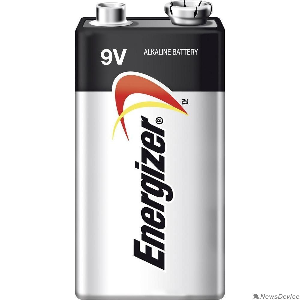 Батарейки  Energizer MAX 522/9V BP1 9V-9B-6LR61 (1 шт. в уп-ке)