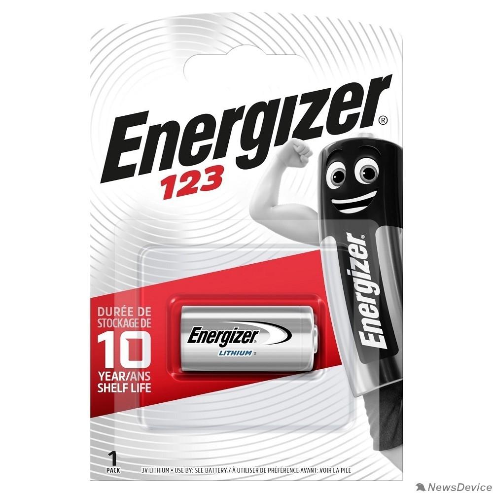 Батарейки Energizer 123 FSB1 (1 шт. в уп-ке)