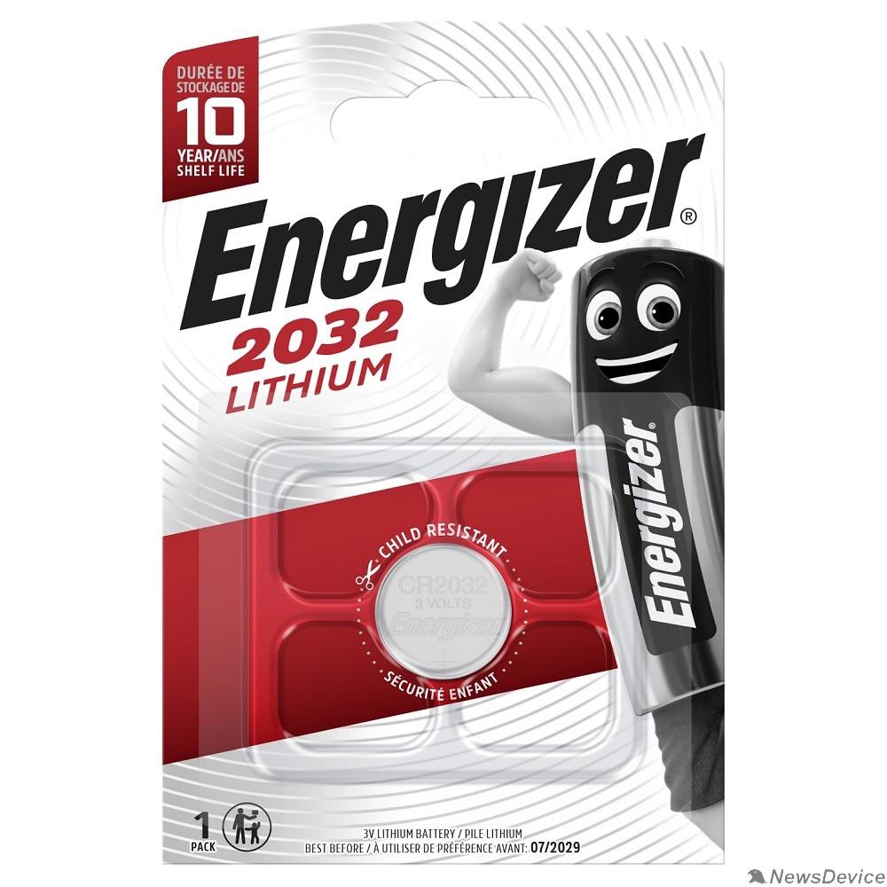 Батарейки Energizer Lithium CR 2032 FSB1 (1 шт. в уп-ке)