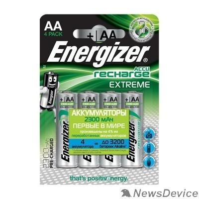 Аккумулятор Energizer Extreme NH15/AA 2300 BP4 Pre-Ch  (4 шт. в уп-ке)