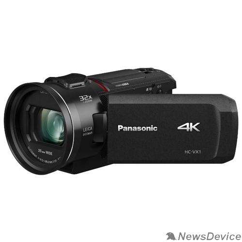 Цифровая видеокамера Видеокамера Panasonic HC-VX1EE-K 4K, черный