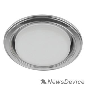 точечные светильники Эра Б0017630 KL35 SL/CH Светильник под лампу Gx53,220V, 13W,серебро/хром