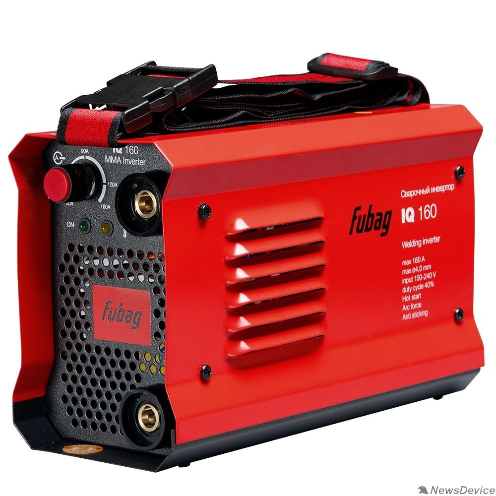 Сварочное оборудование, Инверторы FUBAG IQ 160 Инвертор сварочный 38830 (макс.ток 160А_ПВ 40%_раб.напряжение 150-240В)
