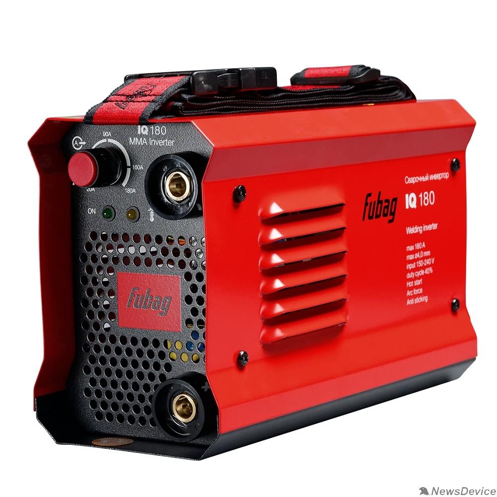 Сварочное оборудование, Инверторы FUBAG IQ 180 Инвертор сварочный 38831 макс.ток 180А_ПВ 40%_раб.напряжение 150-240В