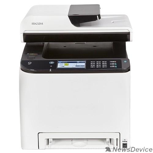 Принтер Ricoh SP C261SFNw МФУ, A4, цветной, 256Мб, 20стр/мин, PCL, PS, дуплекс, LAN, WiFi, факс, SPDF50, NFC,старт.картр(1000стр),самозапуск (408237)