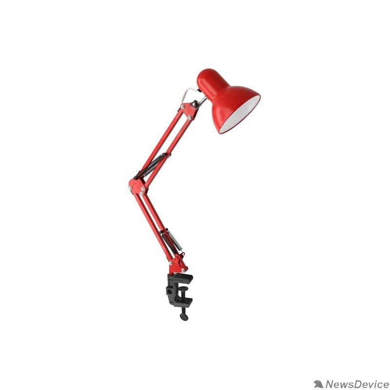 Ultraflash Настольные светильники Ultraflash UF-312P С04 красный (Светильник настольный,230V 60W)