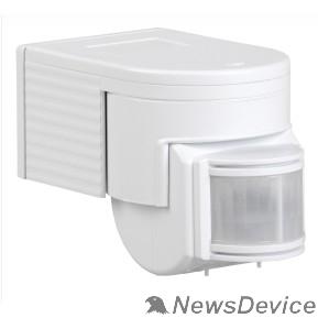 датчик движения Iek LDD10-012-1100-001 Датчик движения ДД 012 белый, макс. нагрузка 1100Вт, угол обзора 180град., дальность 12м, IP44, ИЭК