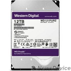 "Жесткий диск 12TB WD Purple (WD121PURZ) Serial ATA III, 5400- rpm, 256Mb, 3.5"""