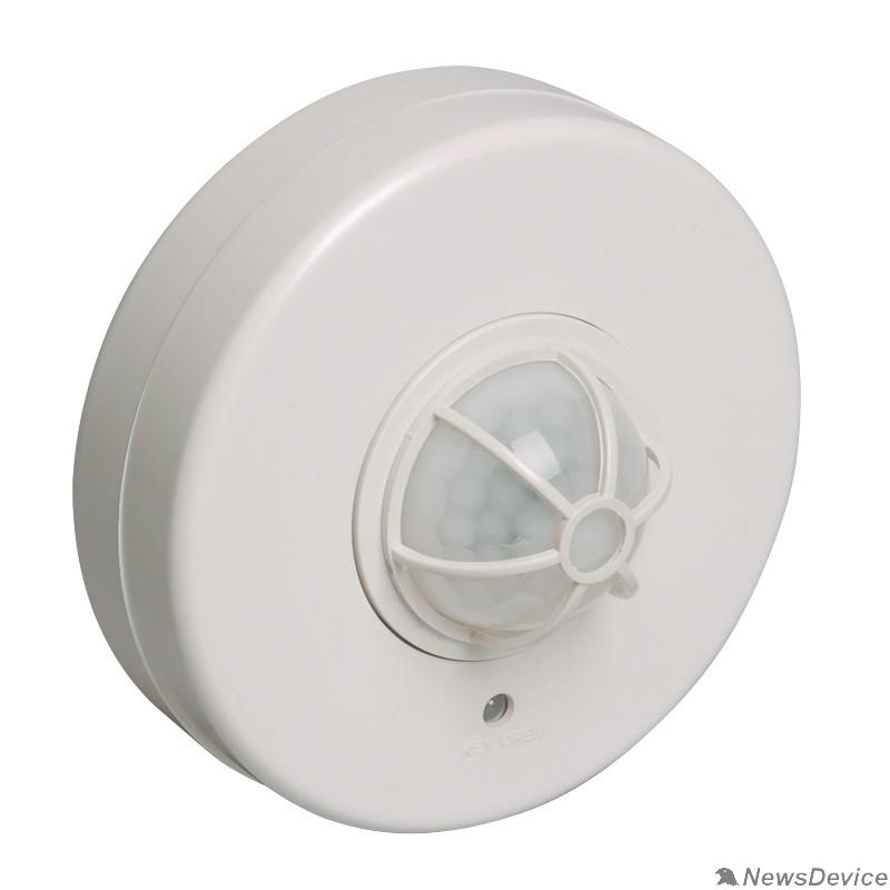 датчик движения Iek LDD11-024B-1100-001 Датчик движения ДД 024В белый, макс. нагрузка 1100Вт, угол обзора 180-360гр, дальность 6м, IP33, ИЭК