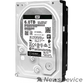 Жесткий диск 6TB WD Black (WD6003FZBX) Serial ATA III, 7200 rpm, 256Mb buffer