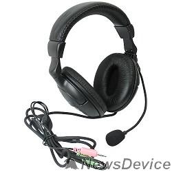 Наушники Defender HN-898 Гарнитура стерео, регулят. громк., 3м кабель 63898