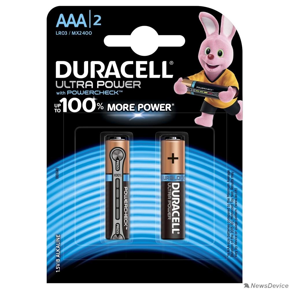 Батарейка DURACELL LR03-2BL Ultra Power (2 шт. в уп-ке)
