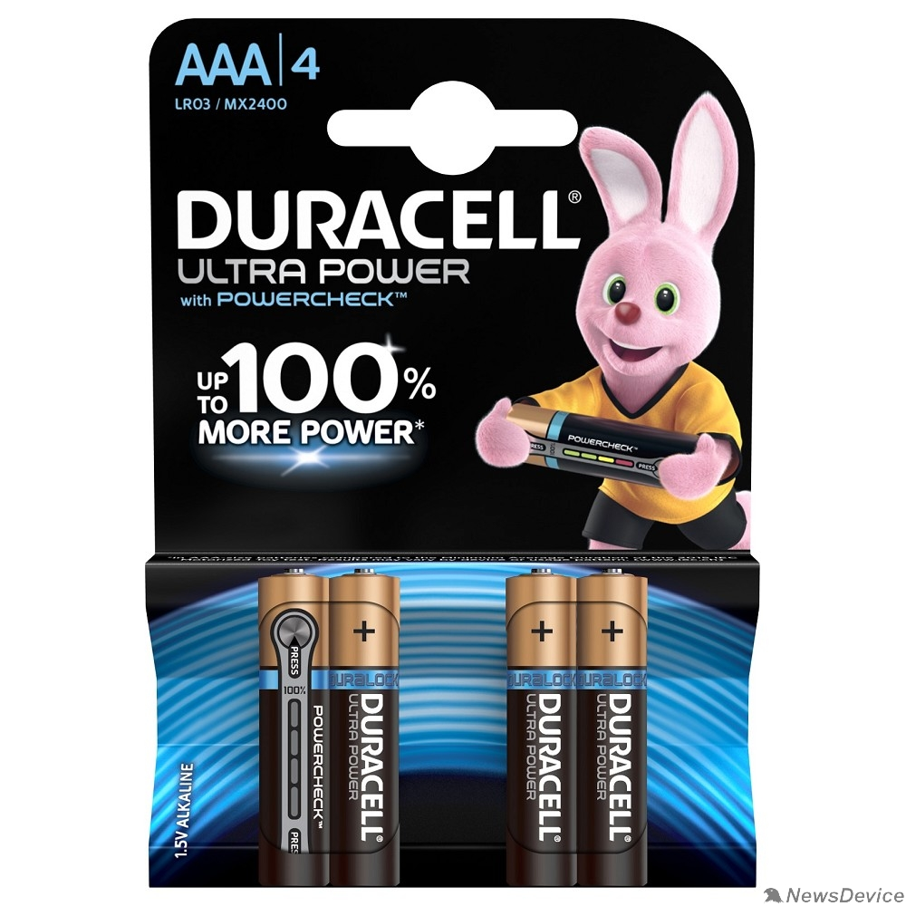 Батарейка DURACELL LR03-4BL Ultra Power (4 шт. в уп-ке)