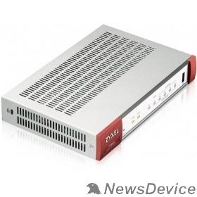 Сетевое оборудование ZYXEL VPN50-RU0101F Межсетевой экран ZyWALL VPN50, 2xWAN GE (RJ-45 и SFP), 4xLAN/DMZ GE, USB3.0, AP Controller (4/36), SD-WAN, 1 год фильтрации контента (CF) и Geo IP