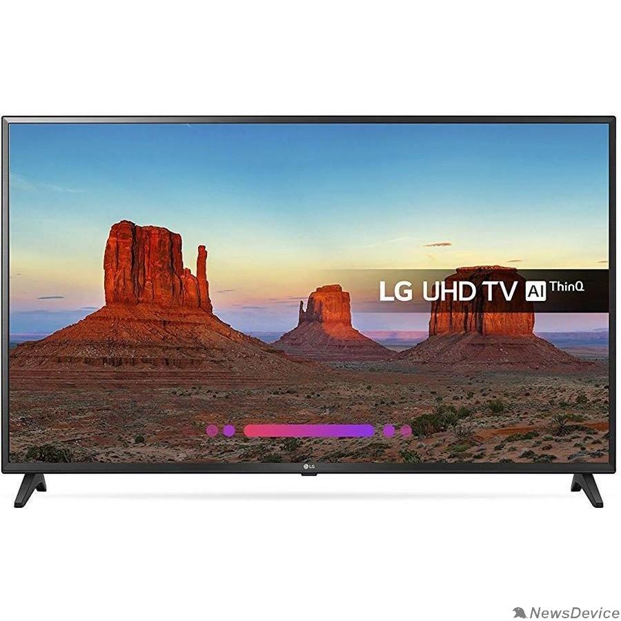 "Телевизор LG 43"" 43UK6200PLA черный Ultra HD/100Hz/DVB-T2/DVB-C/DVB-S2/USB/WiFi/Smart TV (RUS)"