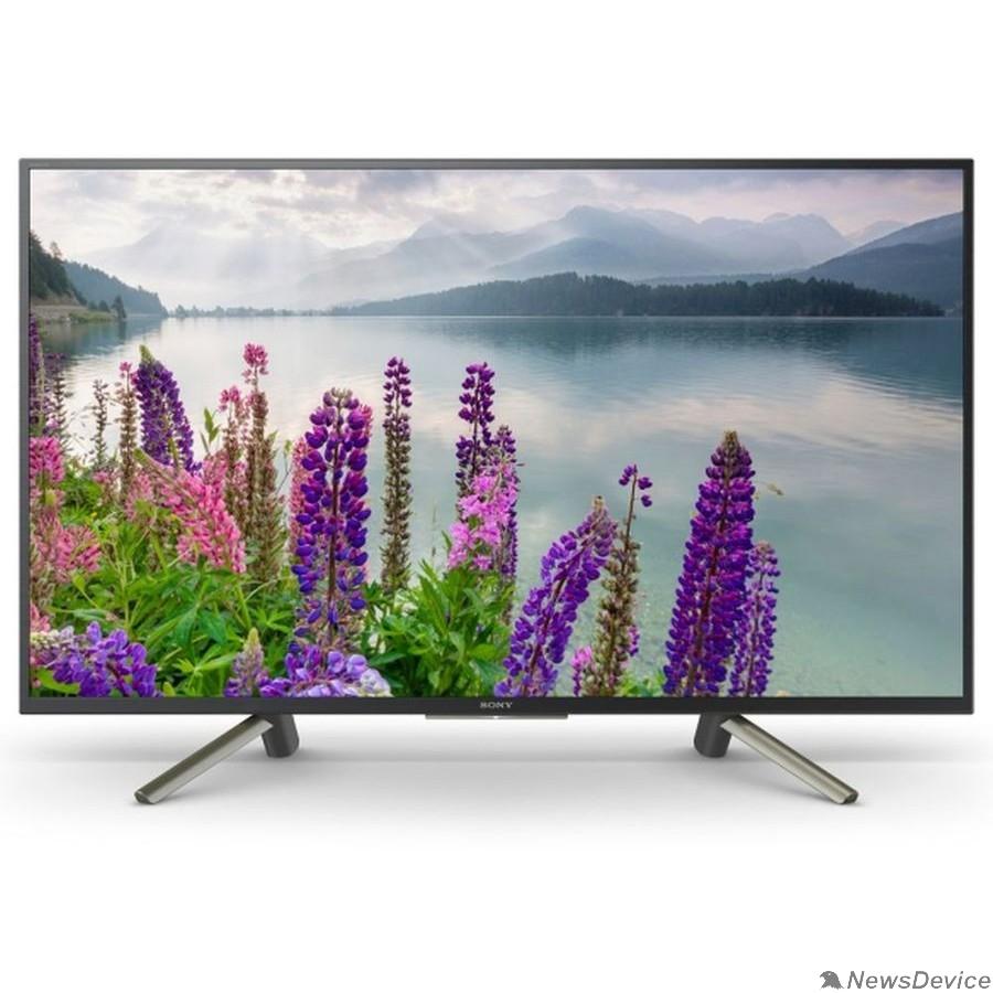 """Телевизор Sony 43"""" KDL43WF804BR BRAVIA черный/серебристый FULL HD/200Hz/DVB-T/DVB-T2/DVB-C/DVB-S/DVB-S2/USB/WiFi/Smart TV (RUS)"""