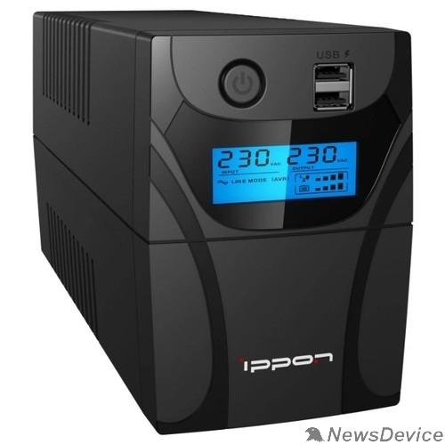 ИБП Ippon Back Power Pro II 800 black 1030309