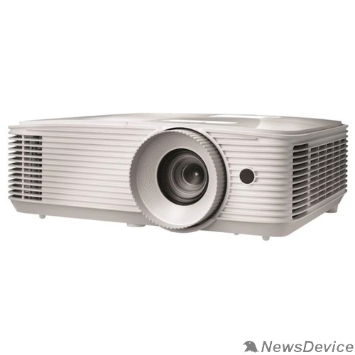 Проектор Optoma EH334 Проектор Full 3D;DLP, Full HD(1920x1080), 3600 ANSI Lm, 20000:1,16:9; TR=1.47:1 - 1.62:1; HDMI (1.4a 3D support) + MHL; VGAx1; Composite; AudioIN x1; VGA Out; Audio Out 3.5mm; RS232; USB