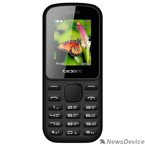Мобильный телефон TEXET TM-130 Мобильный телефон цвет черный-красный