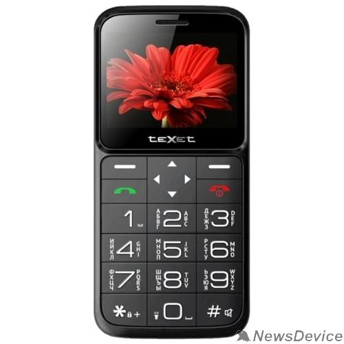 Мобильный телефон TEXET TM-B226 Мобильный телефон цвет черный-красный