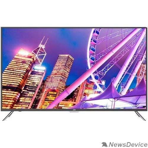 Телевизор JVC LT-43M685 серый SmartTV (Android), FHD, 1920x1080, DVB-C, DVB-T, DVB-T2,  Слот CI/PCMCIA,  Яркость 300 Кд/м?