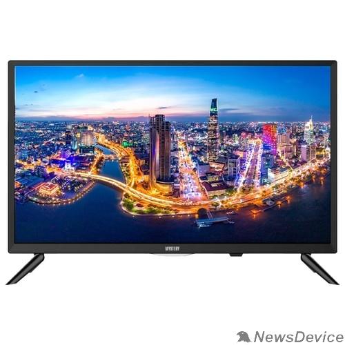 "Телевизор Mystery 24"" MTV-2434LTA2 черный 1366x768, DVB-C, DVB-T, DVB-T2,  Слот CI/PCMCIA,  Яркость 200 Кд/м?"