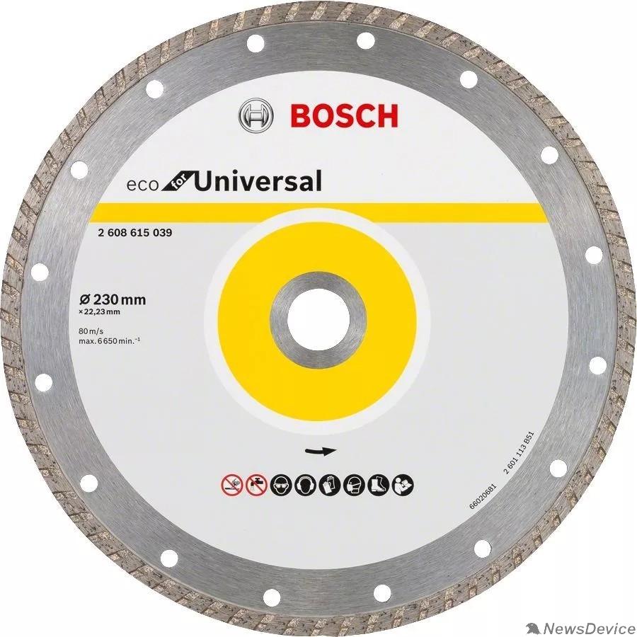 Bosch BOSCH 2608615039 Алмазный диск ECO Univ.Turbo 230-22,23