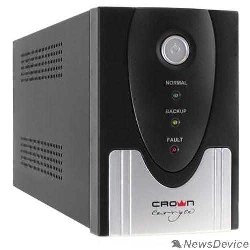 ИБП CROWN ИБП CMU-SP800IEC USB (1x12V.9AH) 8*IEC С13 + 1*IEC С13 bybass, порт USB, LCD-экран CM000001868