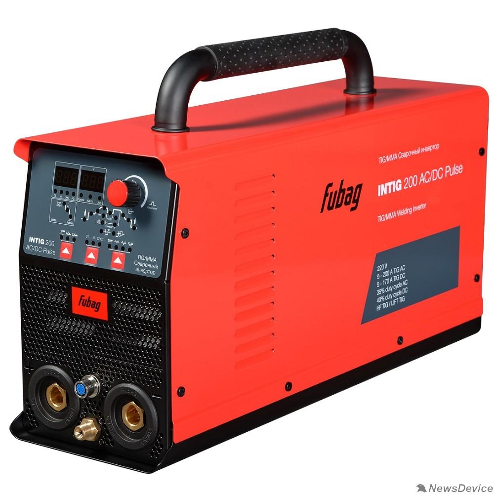Сварочное оборудование, Инверторы FUBAG INTIG 200 AC/DC PULSE (31412) + горелка FB TIG 26 5P 4m Up&Down (38459) 31412.1