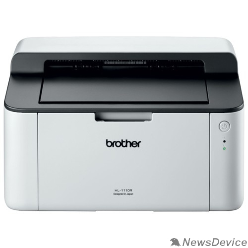 Принтер Brother HL-1110R Принтер, A4, 1Мб, 20стр/мин, GDI, USB, лоток 150л, старт.картридж 700стр (HL1110R1)