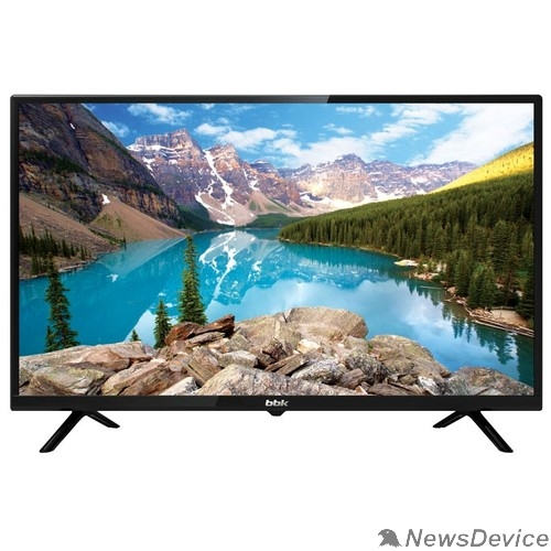 "Телевизор BBK 32"" 32LEM-1050/TS2C черный HD READY/50Hz/DVB-T2/DVB-C/DVB-S2/USB (RUS)"