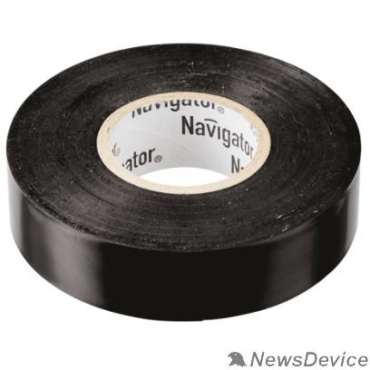 Navigator Скобы пластиковые Navigator 71103 Изолента NIT-B15-20/BL чёрная