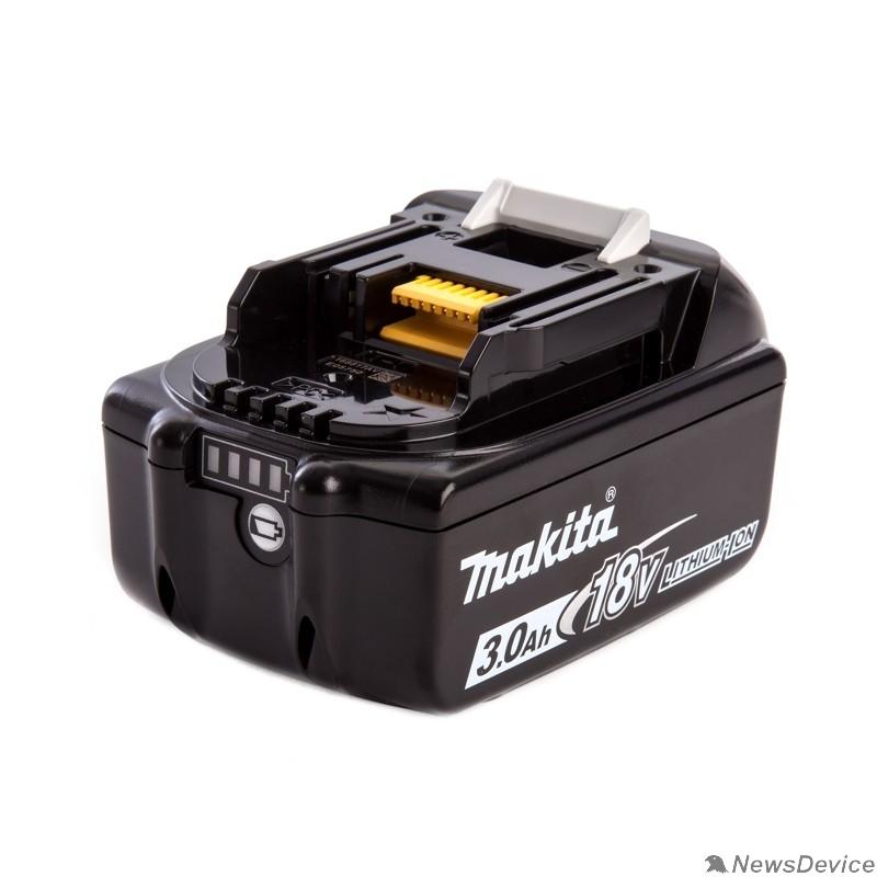 Батареи аккумуляторные и Зарядные устройства Makita Аккумулятор тип BL1830,18В,3Ач Li-ion,коробка,с индикатором 197599-5