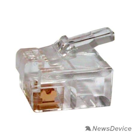 Коннектор 5bites US020A Коннектор RJ-12 / 6P4C / 100ШТ