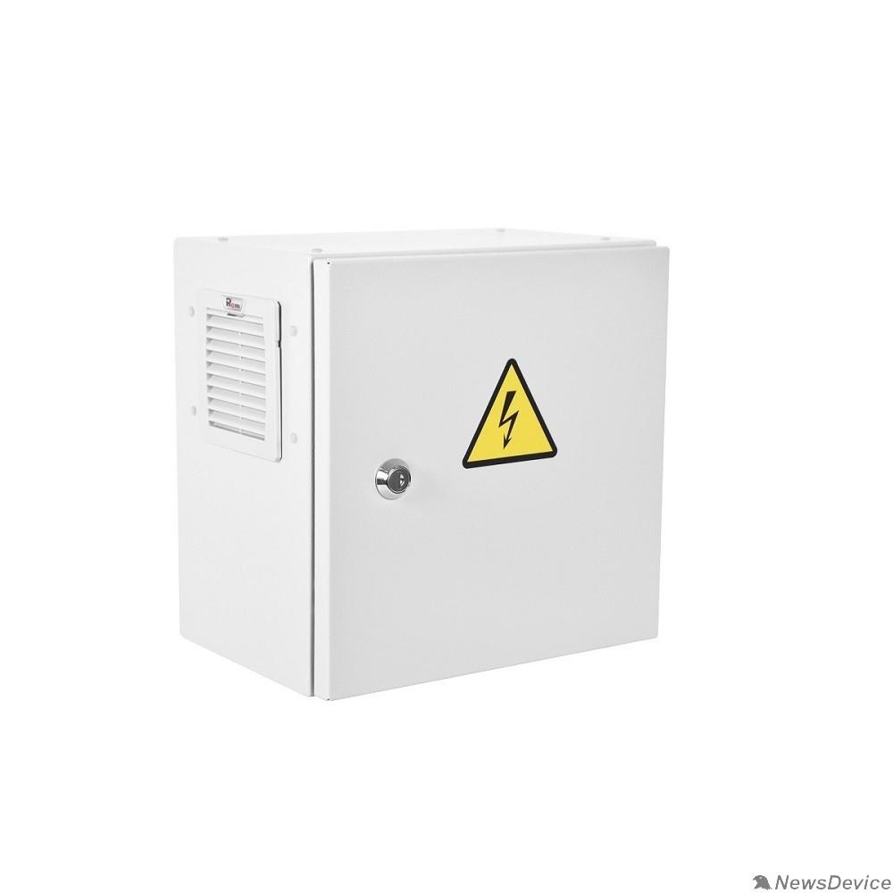 Монтажное оборудование ЦМО Шкаф ЭКОНОМ уличный всепогодный настенный укомплектованный (В600 x Ш600 x Г300), комплектация T1-IP54 (С нагревом и охлаждением) ШТВ-НЭ-6.6.3-3ВВА-Т1